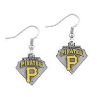 Wholesale Pittsburgh Pirate Team New Drip Earrings Jewelry European And American Fashion Drop Earring Accessories