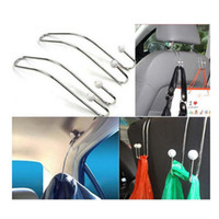 Wholesale Multi functional Car Stainless Steel Hook Seat Back Hanger Pothook Adjustable with Beads High Quality
