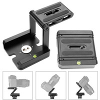 aluminum solutions - Aluminum Folding Quick Release Plate Stand Holder Tripod Z Flex Tilt Camera Head Solution Photography Studio Camera Tripod Z Pan