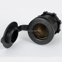 Wholesale Motorcycle Car Waterproof Adapter Cigarette Lighter Plug V Power Socket M00072 SPDH