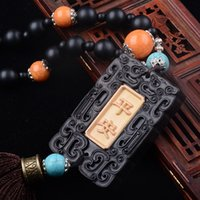 Wholesale Car accessories Ebony car hanging peace happiness jewelry a variety of styles parts