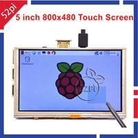 Wholesale Inch x480 HDMI TFT LCD Touch Screen for Raspberry PI Model B B A B