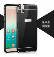 arcylic panel - Metal Case Luxury Aluminum Frame Arcylic Panel print mobile phone Cases for HuaWei Honor i case bag cover