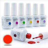 Wholesale 10pcs Choose colors Base Coat Top Coat Soak Off Nail Gel Polish For Nail Art Gel Lacquer Led uv Gelish Nail Polish