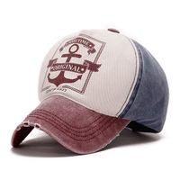 baseball hat hooks - 2015 Colors Broken Hole Style Pirate Hooks Print Adjustable Baseball Cap Washable Summer Cotton Snapback Cap Golf Visor Hat LQJ01105
