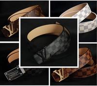 Wholesale 2016 new hip brand buckle designer belts for men gg women genuine leather gold cinto belt Men s