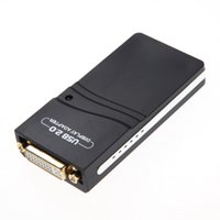 Wholesale New arrival USB UGA Multi Display Adapter Supporting DVI VGA HDMI Max resolution