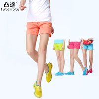 Wholesale Summer Women Shorts Outdoor Sports Camping Hiking Quick Drying Shorts Leisure Thin UV Protection Breathable Shorts XL