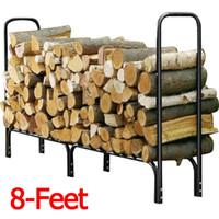Bon Marché Maisons en rondins de bois-US 'Outdoor Heavy Duty Steel Bois de chauffage Bois de chauffage