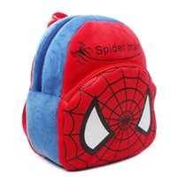 Wholesale Hot sale High Quality Cute movie spiderman school bags baby lovely movie star bags for school children spider man backpack