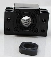 ball bearing parts - 3D Printer Accessories Ball Screw End Support CNC Parts Bearing Block PCE BK12 PCE BF12 For Ball Screw SFU1605 transport by DHL
