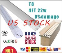 T8 replacement led lights - 2016 US stock T8 LED Tube Light Fluorescent replacement G13 ft cm m High Power W W W SMD2835 led tubes lights V MTLED8