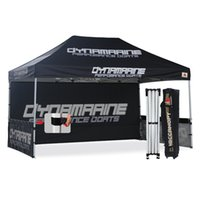 Wholesale AbcCanopy x15 Pop up Canopy Printed Custom Tent Booth with Backwall and Wheeled Bag