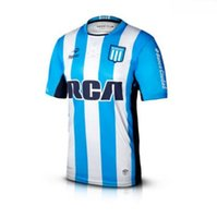 Wholesale Argentina Racing Club de Avellaneda Soccer jersey Home Blue MILITO LISANDRO Racing Shirt jerseys best Quality jersey