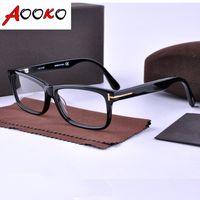 Wholesale 2016 Hot Eyeglasses Optical Glasses Frame Spectacles TOM Brand Myopia Frame Fashion Retro TF5146 Italy Brand Optical Frame with case