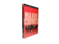 Wholesale New Arrival Major Crimes Season DVD US version Hotselling TV shows New Sealed Instock Fast DHL shipping