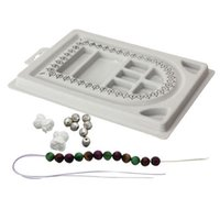 beading jewelry designs - Brand New Gray Bead Trays Bead Stringing Jewelry Craft Design Organizer Board Tool Beading Tray S