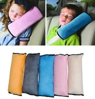 baby auto safety - Baby Auto Pillow Car Safety Belt Protect Shoulder Pad Adjust Vehicle Seat Belt Cover Cushion for Kids Children