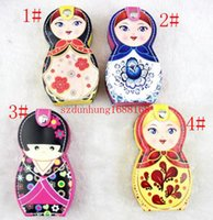 beauty nail scissors - 50sets hot set baby nail clippers doll nail scissors set new peculiar Russian doll beauty nail suits