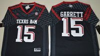 Wholesale College Football Jerseys Myles Garrett Texas A M Aggies for Men Limited Jersey white stiched Free Drop Ship MIX ORDER Sunnee