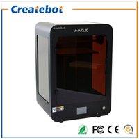 FDM MAX imprimante 3D 280 * 250 * 400mm Taille de la construction 3D Pringting machine avec écran tactile double extrudeuse 1 Roll Filaments 8 Go carte SD comme cadeau