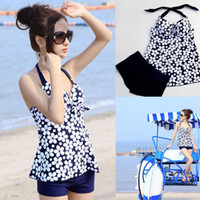 Wholesale 2014 Summer swimsuit women swimwear push up tankinis dot parttern spring fashion ladies swimwear best deal