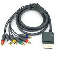 Wholesale 1080P Component HD AV High definition HDTV cable for XBOX Black