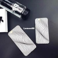 Wholesale wallet iphone cases Fashionable mobile phones decoration to change the attraction of the mobile phone of black and white visual shell