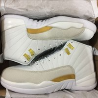 Wholesale Air Retro OVO white gold Drake black Mens Basketball Shoes retro s Black Men Sneakers athletic boots discount SIZE