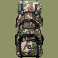 baseball equipment bags backpacks - High Quality Camouflage Large Capacity Climbing Hiking Camping Backpack Climbing Bag Outdoor Travel Equipment Professional Mountaineering Ba