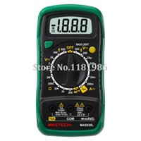 ac dc circuits - Mastech MAS830L Digital Multimeter DC AC Voltage Resistance Transistor Tester Data Hold Circuit Continuity Test