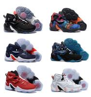Wholesale Sale Lebron Basketball Shoes Mens Sneakers Sports Man Lebron XIII LBJ Elite Premium Basket Shoes Size