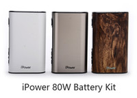 Wholesale Eleaf iPower W TC Box Mod with mAh Battery VW Bypass Smart TC Vape Mods Original ecig mods Thread