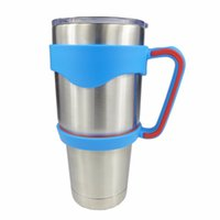 Wholesale Newest Plastic Handles for oz Yeti Rambler Tumbler Cups Secure Holder For oz Young Yeti Stainless Steel Insulated Tumbler Mugs
