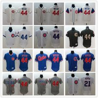 Wholesale Chicago Cubs Anthony Rizzo Sammy Sosa Flexbase Baseball Jerseys Authentic Collection