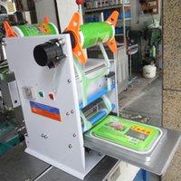 batch number printing machine - FGJ D150 Semi automatic print date and batch number capping machine automatic cup sealer film sealig machine sealer trays cup