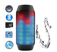 audio stream player - Factory Price Y35 Wireless Bluetooth speakers For JBL PULSE Portable Mini Speaker Streaming Colorful LED Lights Hifi TF Card