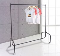 Wholesale 5 Rolling Garment Rack Hanger Stand Home Laundry Bar Dryer Wardrobe Closet