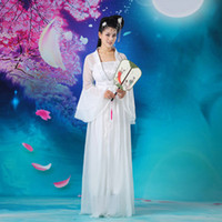 Wholesale Women s Cosplay Costume National Dance Clothes Fairy Princess Tang Suit Hanfu Queen Chinese Ancient Clothing UA0159 kevinstyle