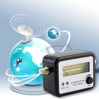 Wholesale 1pcs Digital Satellite Signal Finder Meter Compass FTA TV Signal Receiver Finder Hot Worldwide