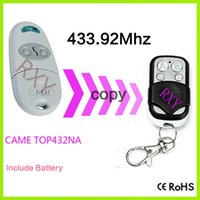 Wholesale Duplicator CAME TOP432NA mhz remote control with battery