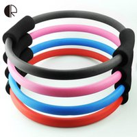Wholesale Exercise Sport Pilate Ring Pilates Magic Fitness Yoga Circle Accessories Lose Weight Fitness Equipment SY081