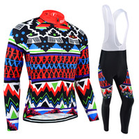 acrylic mesh - BXIO Cool Cycling Jerseys Winter Thermal Fleece And Autumn Long Mesh Bikes Clothes Long Sleeve Suit Brightly Colored Cycle Jerseys BX