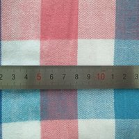 Wholesale DY q34 Multicolor Twill Flannel Brushed Plaid CM Check Fabric For Winter Shirt Overcoat