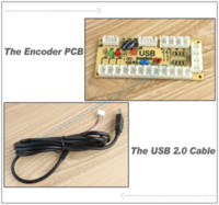 Wholesale Zero Delay USB Encoder to PC Joystick Replace USB handle Controller For Arcade DIY Kits Sanwa Parts MAME