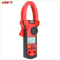 Wholesale UNI T UT207A Digital Clamp on Meter Multifunction Auto Range Multimeter ACDC Voltage Current TEMPERATURE Tester DMM