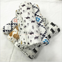 swaddle blankets - Baby Muslin Swaddles Ins Wraps Ins Blankets Nursery Bedding Newborn Organic Cotton Ins Swadding Bath Towels Parisarc Quilt Robes B657