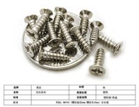 Wholesale Nickel plated GB846 KA Mini countersunk head tapping screw self tapping screws small flat electronic M3