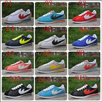 Wholesale best selling brands New new men and women cortez shoes leisure Shells shoes Leather fashion outdoor Sneakers size