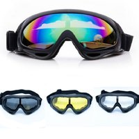 Wholesale Outdoor Riding Glasses CS Windproof Mirror Eyes Protector Goggles Professional Ski Glasses Mirror Motorcycle Goggle Eyewears